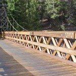 Civil Engineering and Marine Construction Project - Longmire Suspension Bridge Completion