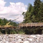 Longmire Bridge Crane: Civil Engineering and Marine Construction Project