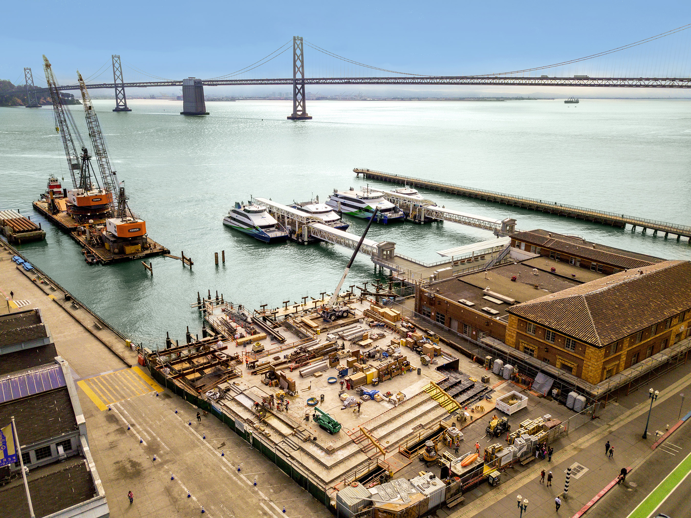 Downtown SF Ferry Terminal Expansion